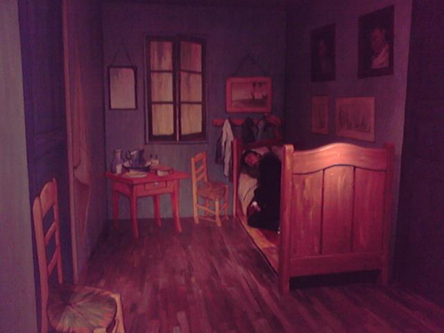 ゴッホの部屋