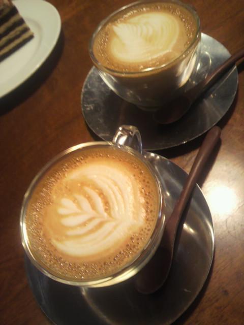 軽井沢のコーヒー店