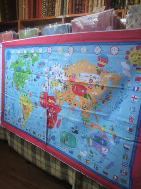 世界地図柄