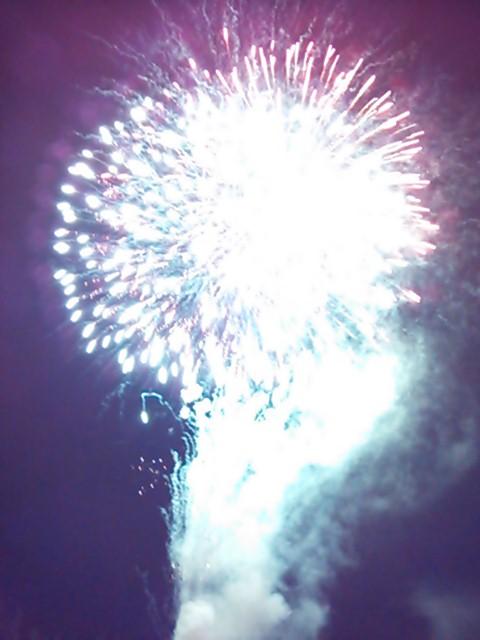 軽井沢の花火