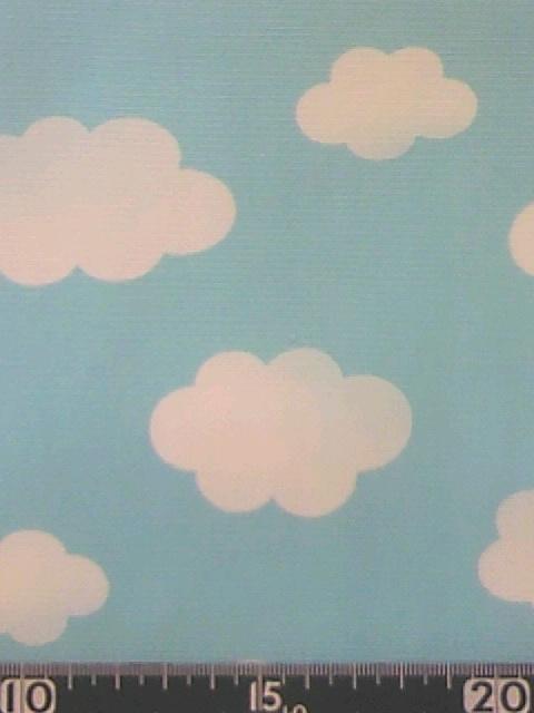 雲柄(空)<br />  の布地
