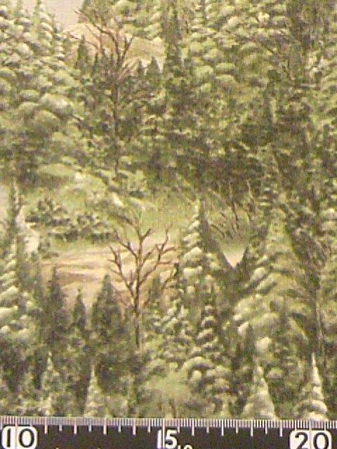 森柄の布地